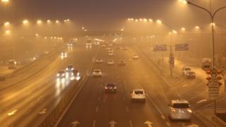 Kabut asap di Beijing