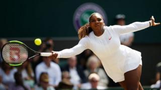 Serena Williams a décroché son billet pour la finale du simple féminin de Wimbledon