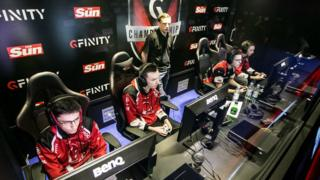 A Gfinity tournament