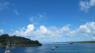 Harbour in Vanuatu