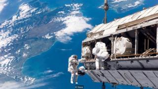 Amerika Serikat tidak mengizinkan astronot Cina mendarat di ISS