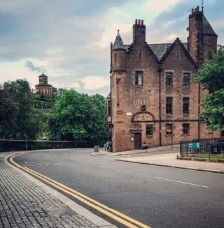 Cathedral house and the Necropolis, Glasgow