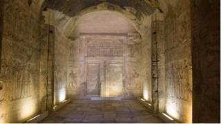 Байыркы шаар өзүнүн храмдары жана башкаруучулардын күмбөздөрү менен атагы чыккан Абидостун жанынан табылды