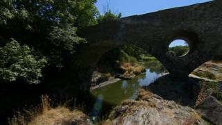 The river Teifi at Cenarth