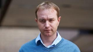 British trader Tom Hayes leaves Southwark Crown Court in London