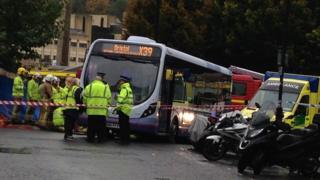 Scene of crash