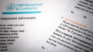 HMRC self-assessment documents