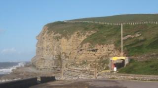 Southerndown cliffs