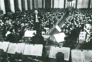 Karl Eliasberg conducting on 9 August 1942
