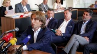 Luka Modric a kotu