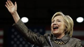 Bi Hillary Clinton ndiye mwanamke wa kwanza kuteuliwa na chama kikubwa kuwania urais Marekani