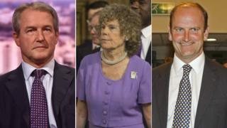 Owen Paterson, Kate Hoey and Douglas Carswell