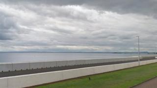 Esplanade in Kirkcaldy