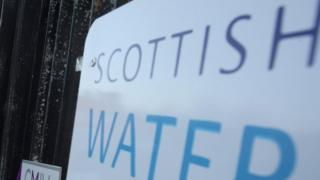 sports Scottish Water sign
