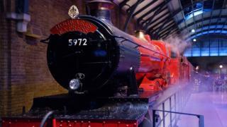 El Expreso de Hogwarts en el estudio de Warner Brothers en Reino Unido
