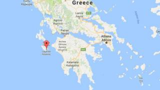 A map of Greece