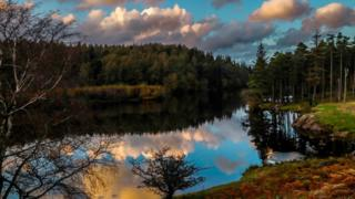 Tarn Hows in the Lake District National Park