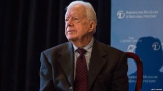 Former President Jimmy Carter in 2015