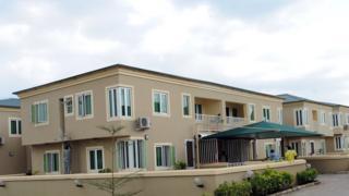 Detached duplex for Lagos, Nigeria.