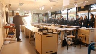 Physics class