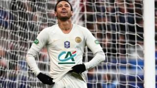Paris Saint-Germain yari yaratsindiye igikombe cy'Ubufaransa muri buri mwaka mu myaka ine ishize y'imikino