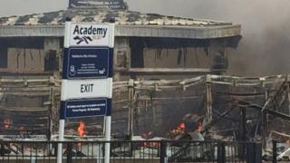 Selsey Academy fire