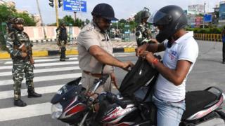 पुलिस, बाइक