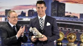 Florentino Perez da Cristiano Ronaldo