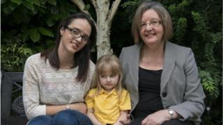 Brenda, Helen and Lily Mae