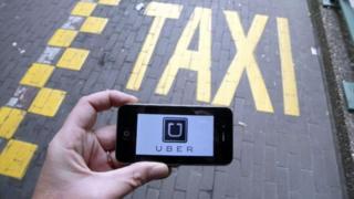 Huduma ya texi ya Uber