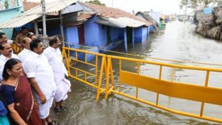 ஈரோட்டில் வெள்ளம்: கிராமங்களில் உட்புகுந்த நீர்; ஆய்வு செய்த முதல்வர்