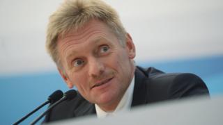 Kremlin spokesman Dmitry Peskov, file pic