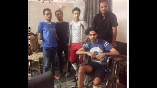مصابون يمنيون يتلقون العلاج في القاهرة