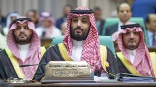 Pangeran Muhammad bin Salman di KTT OKI di Mekah, 30 Mei 2019
