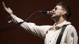The Courteeners singer Liam Fray
