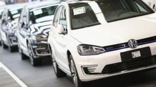 VW production line