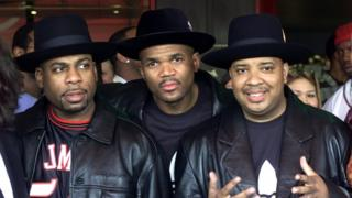 Jam Master Jay with other members of Run DMC
