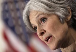 Jill Stein, the leader of the US Green Party, is in Louisiana to assess flooding damage
