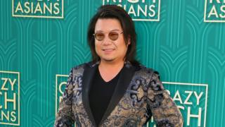 "Kevin Kwan attends the premiere of ""Crazy Rich Asians"""