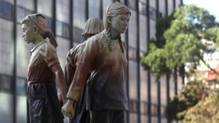 Comfort women statue