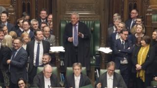 John Bercow in the Speaker's Chair in April 2019