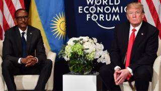 Trump na Kagame