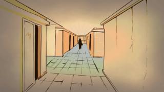 Рисунок - коридор издательства