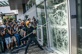 معترضان هنگ کنگ