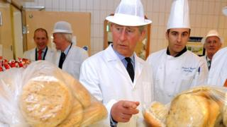Prince Charles and bread rolls