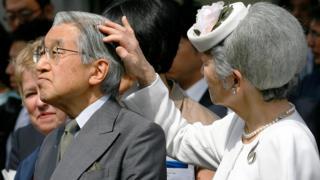 імператор Японії і його дружина