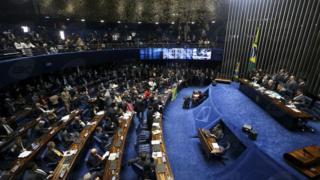 Votação no Senado sobre impeachment de Dilma Rousseff