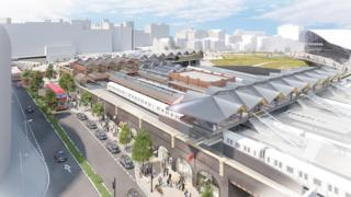 Artists impressions of Moor Street