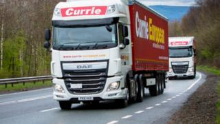 Currie lorry