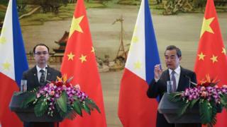 Ông Vương Nghị nói ca ngợi về tăng trưởng về mậu dịch và nỗ lực giải quyết bất đồng trong quan hệ hai nước tại Biển Đông